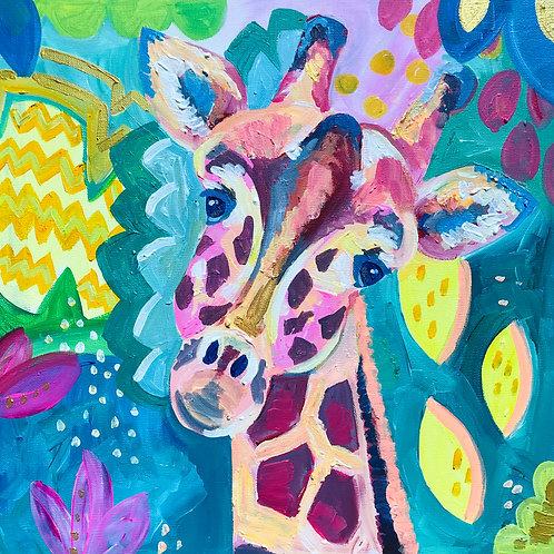 Nursery Giraffe Print