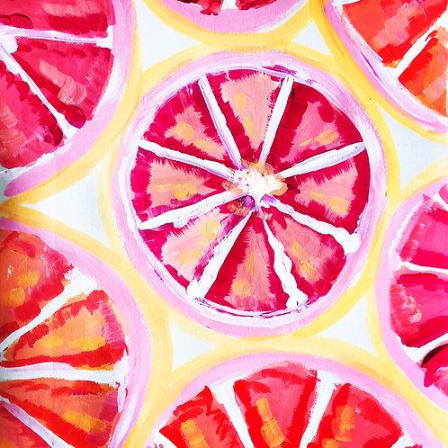 Grapefruits Print