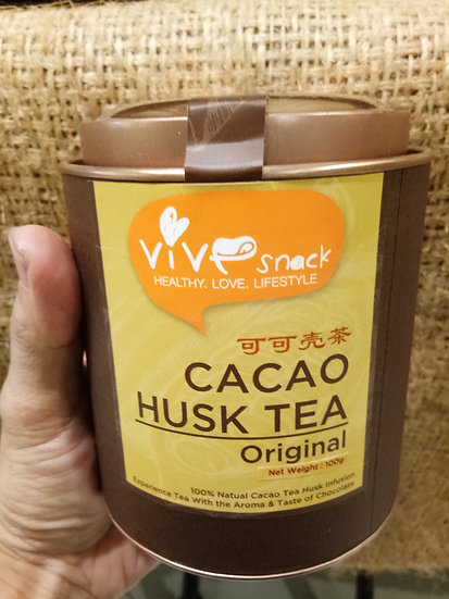 VIVE CACAO HUSK TEA  100GM