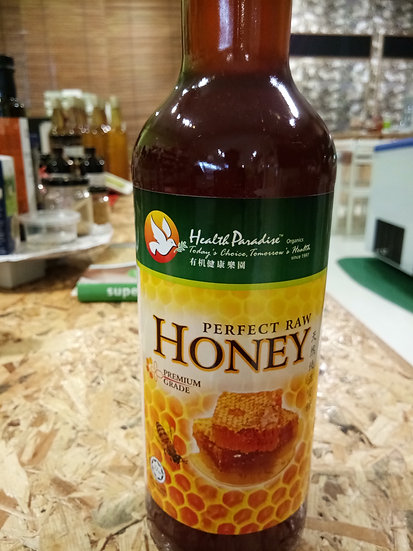 HP PERFECT RAW HONEY  1KG