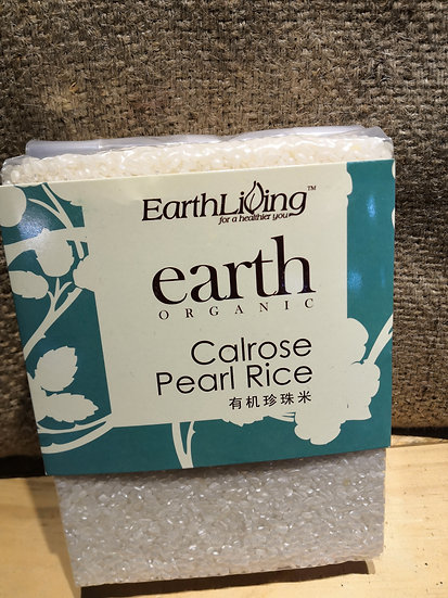EARTH ORGANIC Calrose Pearl Rice (1kg)
