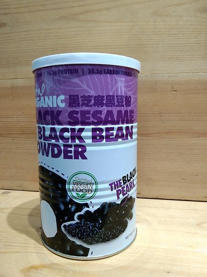 EL Organic  Black Sesame & Black Bean Powder 500g