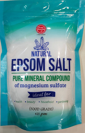 Natural Epsom Salt 425g