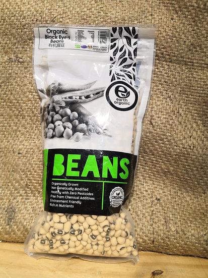Organic Black Eyed Beans (500 g±)