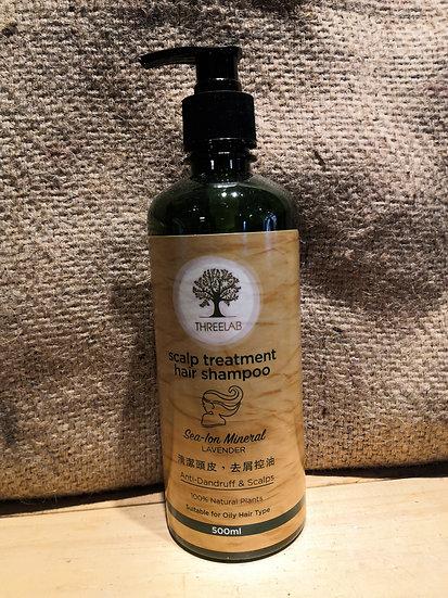 THREELAB Scalp Treatment Hair Shampoo (500ml)