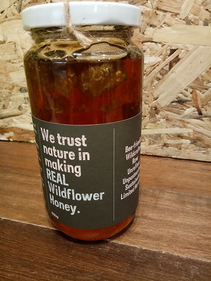 KH REAL WILDFLOWER  HONEY 550GM