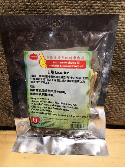甘草 Licorice (50 gm±)