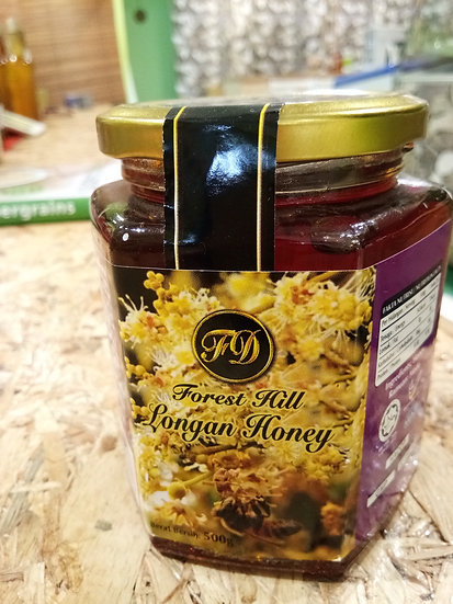 FOREST HILL LONGAN HONEY 500GM