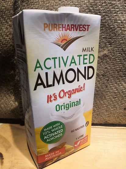 PUREHARVEST Original Activated Almond Milk (1L)