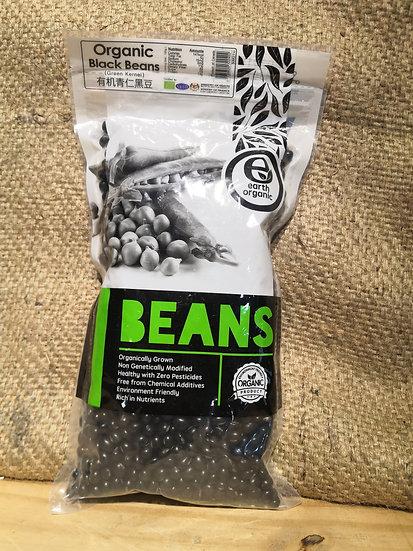 Organic Black Beans  (500 g±)