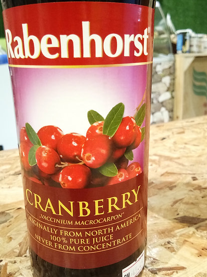RABENHORST CRANBERRY JUICE 750ML