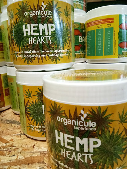ORGANICULE HEMP HEARTS 500GM