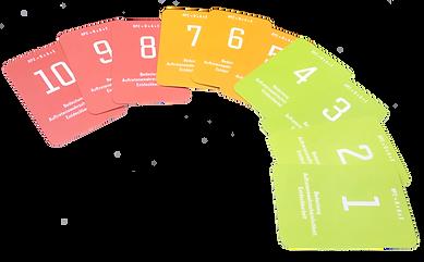 FMEA Bewertungskarten komplett