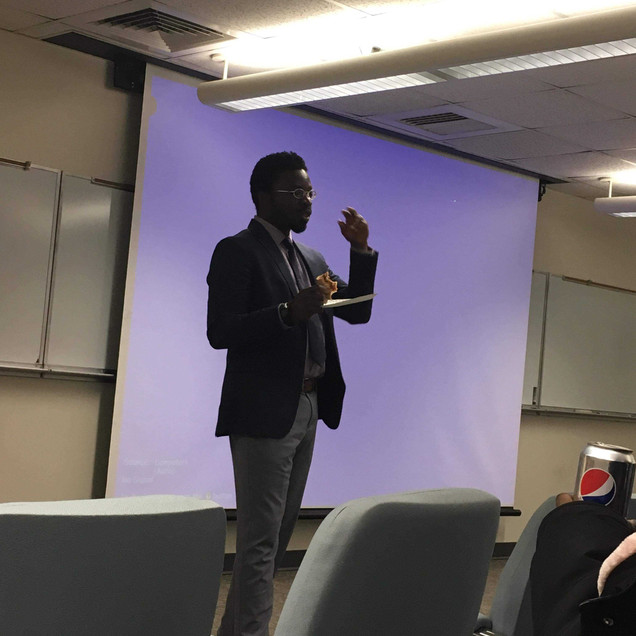 Richmond Sarpong at UMD