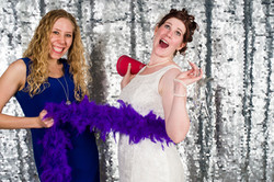 Bride & Maid of Honor Photo Booth