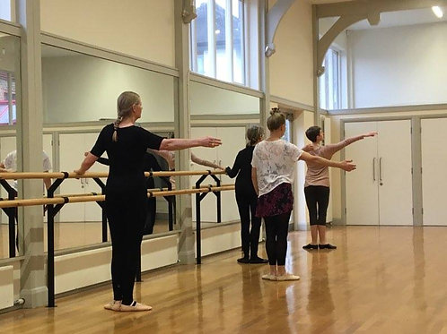 Online Ballet4Life Single Class Fee