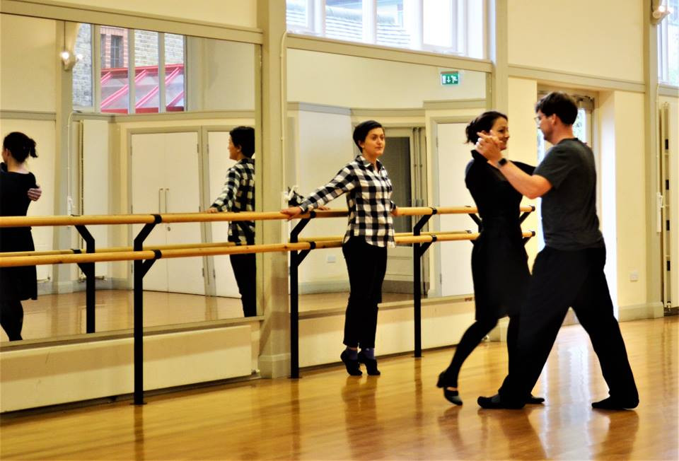 Anca teaching Ballroom - St Peter's Hall