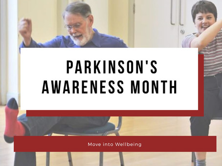Parkinson's Awareness Month + COVID-19