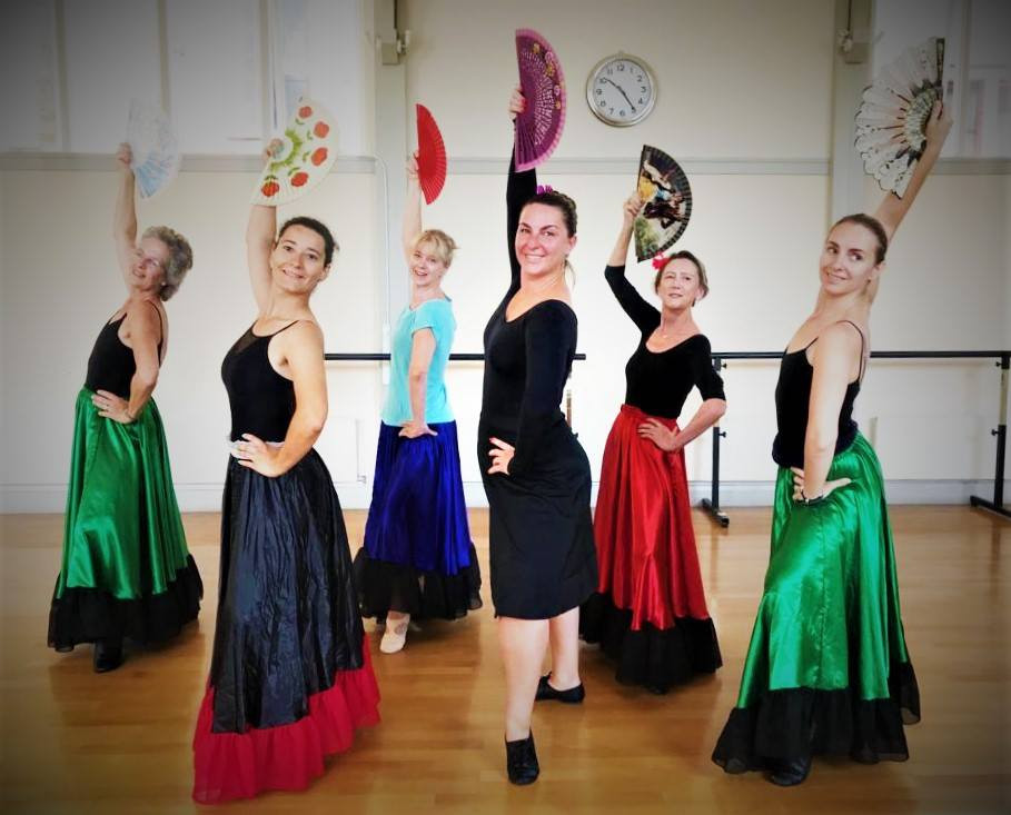 Alina and her Character Dancers - St Peter's Hall