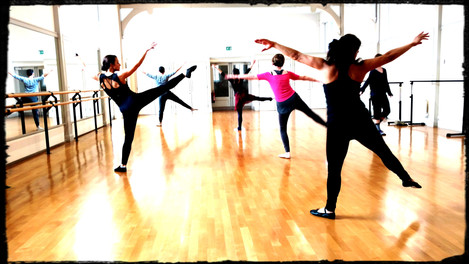 Beatrice's Contemporary Class - St Peter's Hall