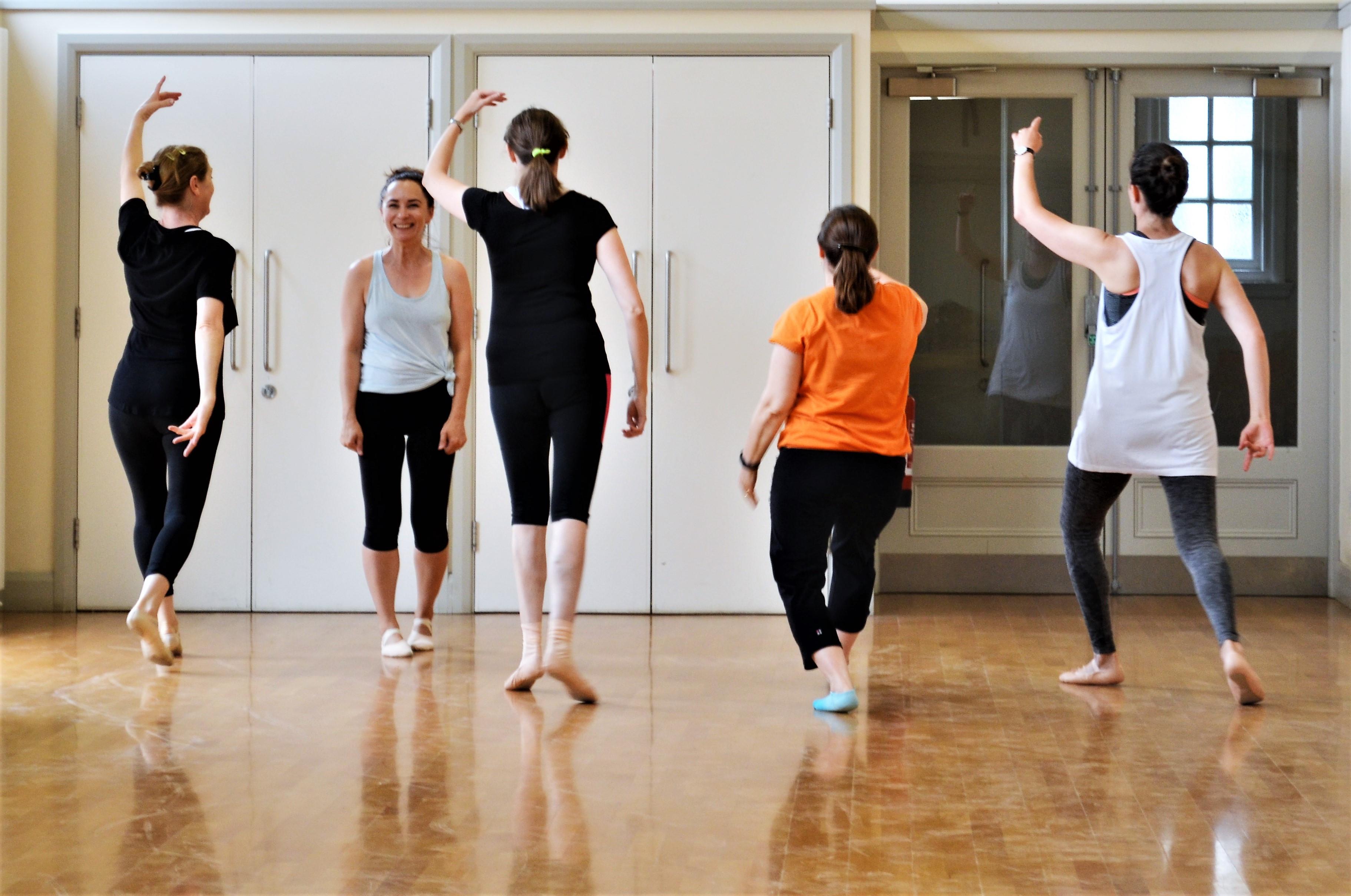 Thursday pm Ballet Beginner Improvers