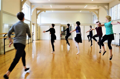 Beatrice teaching Ballet Improvers - St Peter's Hall