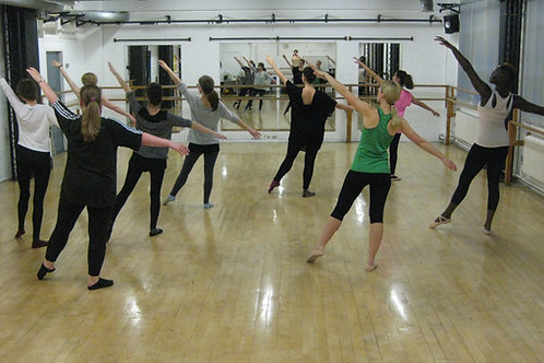 Online Ballet4life 10 Classes Block Booking - Concession Fee