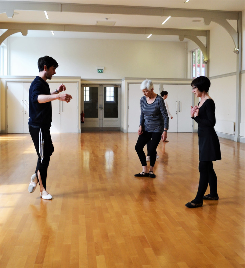 Mark teaching General Ballet - St Peter's Hall