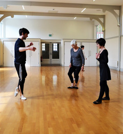 Mark teaching General Ballet - St Peter's Hall