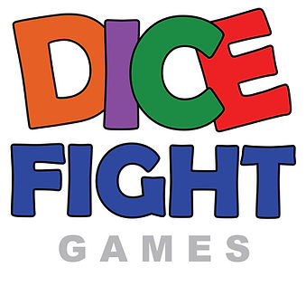 Dice Fight Games Sell Pad LOGO on White