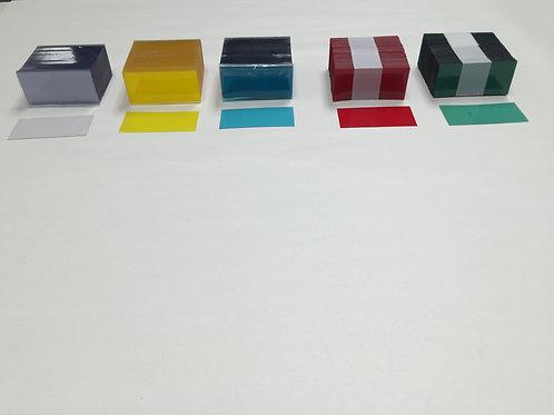 Plastic Label Covers - Translucent
