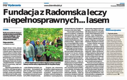 """Media o programie """"Leczymy lasem"""""""