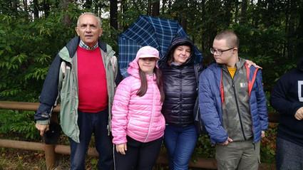 Jesienna mżawka w Borowinie