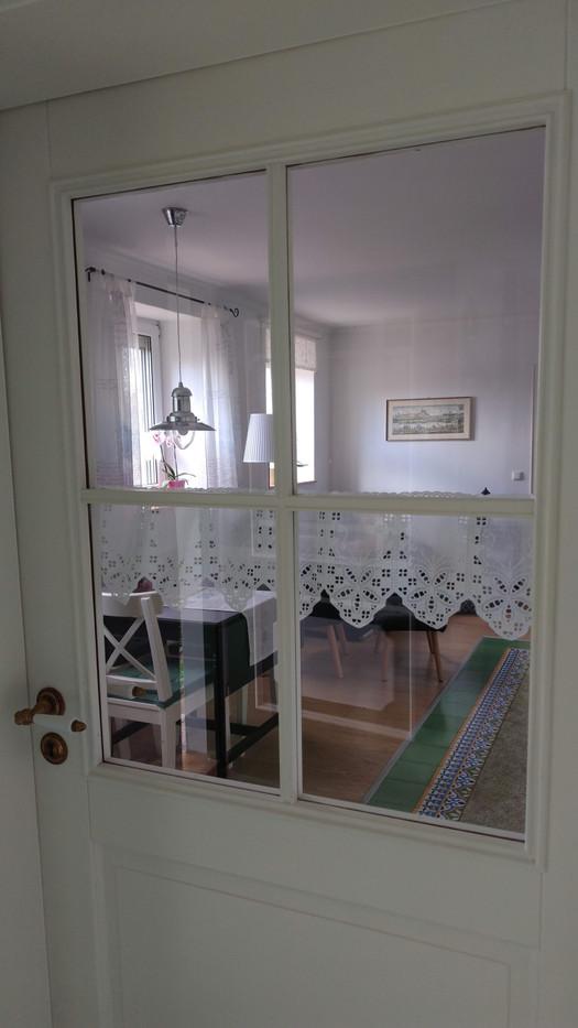 Blick in den Wohnraum