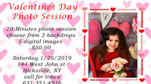 2 Valentines Day Photo Sessions!