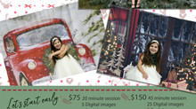 Outdoor Christmas Mini Sessions Available!