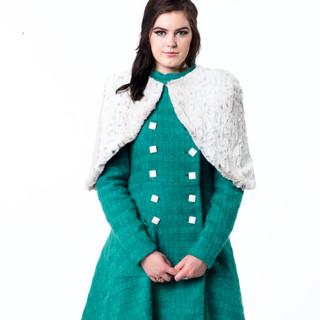 """Sweet Cruella"" A/W Coat, Cape, Dress"
