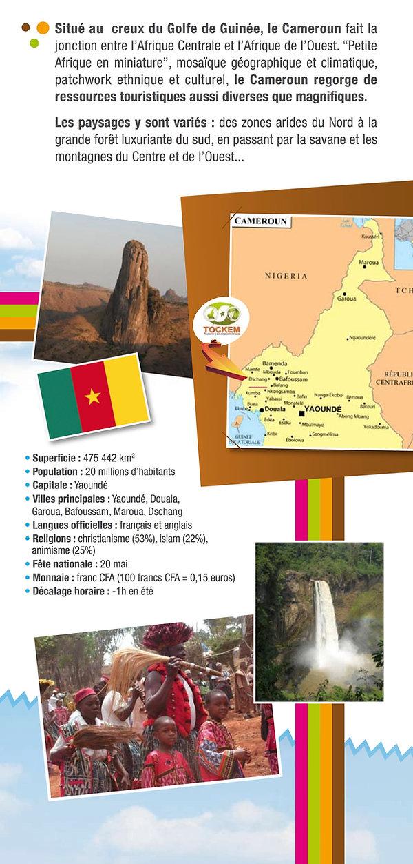 Information générales sur le Cameroun