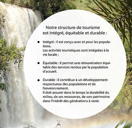 Le tourisme solidaire?