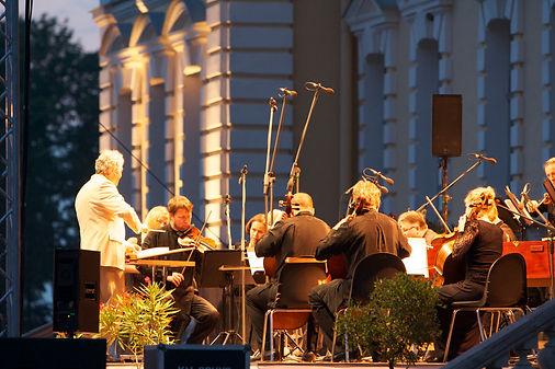 Koncerts Rundāles pilī