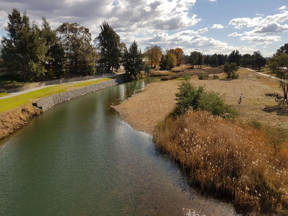 Macquarie River at Bicentennial Park, Bathurst