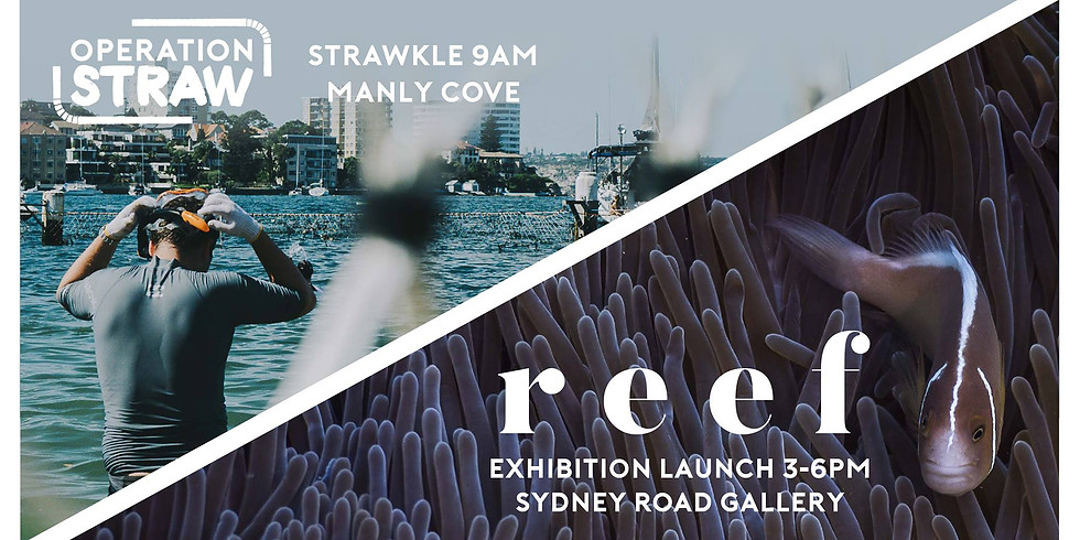 Celebrating Clean-Up Australia Day Early: Strawkle + Reef Launch