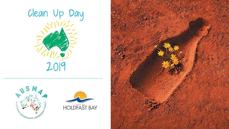 Clean Up Australia Day with AUSMAP at Brighton Beach SA