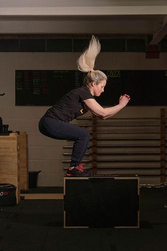Box Jumps CrossFit