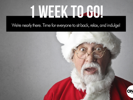 Less than 1 week to go until Christmas Day!