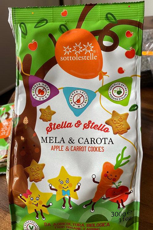 Biscotti Mela & Carota Bambino