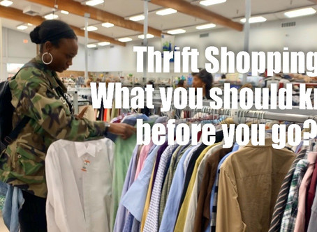 Want to try Thrift Shopping?  – Get the tea on what you should do before going!!