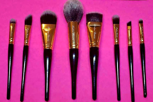 8 PIECE MAKEUP BRUSH SET