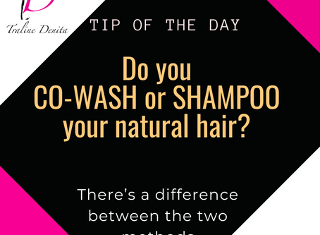 Co-Washing vs. Shampooing - What's the difference?