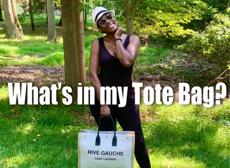 """What's in My """"Tote"""" Bag?"""